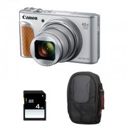 CANON PowerShot SX740 HS Argent Garanti 2 ans + Sac et Carte SD 4 Go