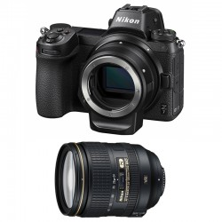 NIKON Z 7 + AF-S 24-120mm f/4 G ED VR Garanti 3 ans + FTZ Adaptateur