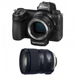 NIKON Z 7 + TAMRON Objectif SP 24-70mm f/2.8 Di VC USD G2 Garanti 3 ans + FTZ Adaptateur