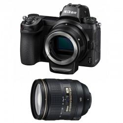 NIKON Z 6 + AF-S 24-120mm f/4 G ED VR Garanti 3 ans + FTZ Adaptateur