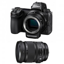 NIKON Z 6 + SIGMA 24-105mm f/4 DG OS HSM ART + FTZ Adaptateur