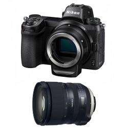 NIKON Z 6 + TAMRON Objectif SP 24-70mm f/2.8 Di VC USD G2 Garanti 3 ans + FTZ Adaptateur
