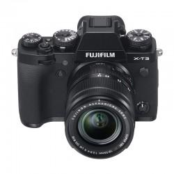FUJIFILM X-T3 NOIR + 18-55mm Garanti 3 ans