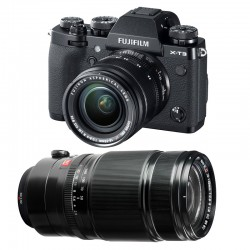 FUJIFILM X-T3 NOIR + 18-55mm + 50-140mm Garanti 3 ans