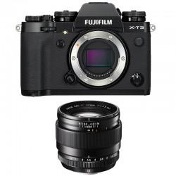 FUJIFILM X-T3 NOIR + 23mm F1.4 Garanti 3 ans