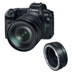 CANON EOS R + RF 24-105mm f/4L IS USM Garanti 3 ans + bague EF-EOS R