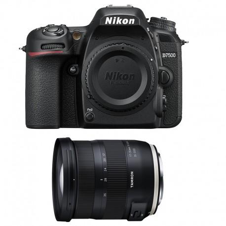NIKON D7500 + TAMRON SP AF 17-35 f/2.8-4 Di OSD Garanti 3 ans