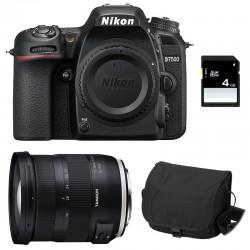 NIKON D7500 + TAMRON SP AF 17-35 f/2.8-4 Di OSD Garanti 3 ans + Sac + Carte SD 4Go