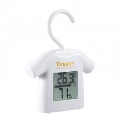 OREGON Thermomètre hygromètre style cintre blanc CHS0012W
