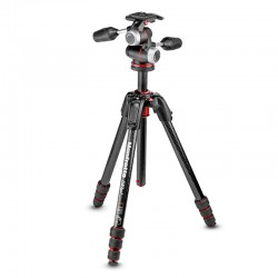 MANFROTTO Trépied MK190GOC4-3WX 190GO! Carbone 4 Sections