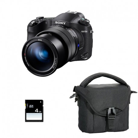 SONY Bridge DSC-RX10 IV Garanti 2 ans + Sac et Carte SD 4 Go