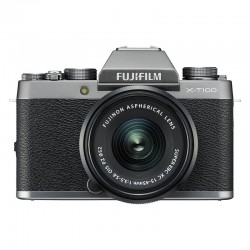 FUJIFILM X-T100 Dark Silver + Objectif XC15-45 PZ GARANTI 3 ans