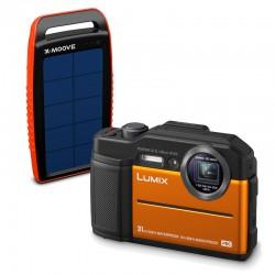 PANASONIC Lumix DC-FT7 Etanche/Antichoc Orange GARANTI 2 ans avec chargeur solaire
