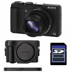 SONY Compact DSC-HX60 Garanti 2 ans + ETUI + SD 4 Go