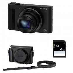 SONY Compact DSC-HX90 Garanti 2 ans + ETUI + SD 4 Go