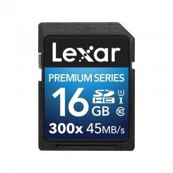 LEXAR Carte SDHC 16 Go PREMIUM 300X 45 Mo/s