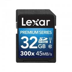 LEXAR Carte SDHC 32 Go PREMIUM 300X 45 Mo/s