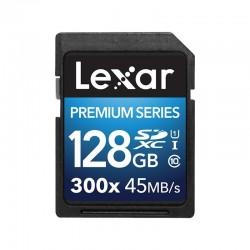 LEXAR Carte SDXC 128 Go PREMIUM 300X 45 Mo/s