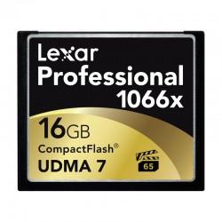 LEXAR Carte CF 16 Go 1066X Professional UDMA