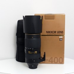 Occasion NIKON AF-S 80-400 mm f/4.5-5.6 G ED VR