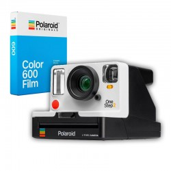 POLAROID KIT ONE STEP 2 BLANC Viewfinder + film