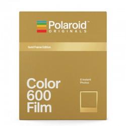 POLAROID Film Couleur pour 600 - Gold Frame Edition