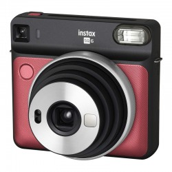 FUJIFILM Appareil Photo Instantané Instax Square SQ6 ROUGE
