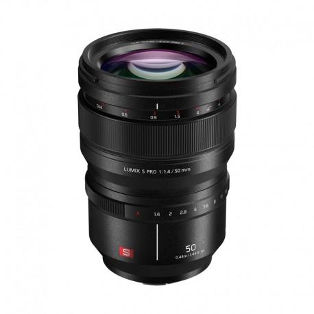 PANASONIC Objectif Lumix S Pro 50mm f/1.4 Garanti 2 ans