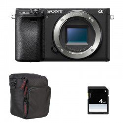 SONY ALPHA 6400 NOIR NU GARANTI 3 ans + FT + SD