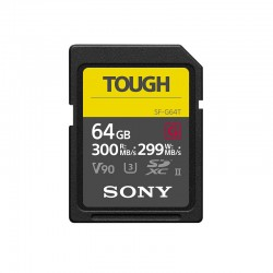 SONY Carte SD Tough 64 Go R300/W299