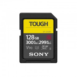 SONY Carte SD Tough 128 Go R300/W299