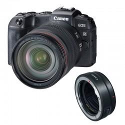 CANON EOS RP + RF 24-105mm f/4L IS USM GARANTI 3 ans + bague EF-EOS R