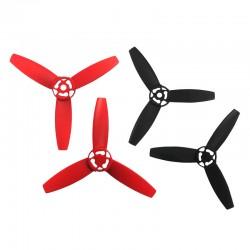 PARROT 4 hélices rouge et noires
