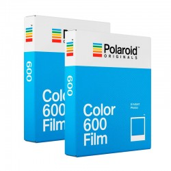 POLAROID pack de 2 Films 600 Couleur