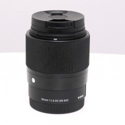 Occasion SIGMA 30 mm f/1.4 DC DN Contemporary NOIR pour SONY E