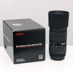 Occasion SIGMA 50-150 f2.8 APO EX DC HSM CANON