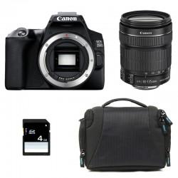 CANON EOS 250D + 18-135 IS STM Garanti 3 ans + Sac + SD 4Go