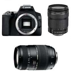 CANON EOS 250D + 18-135 IS STM + TAMRON 70-300 DI Garanti 3 ans