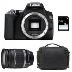 CANON EOS 250D + 18-200 IS Garanti 3 ans + Sac + SD 4Go