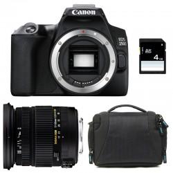CANON EOS 250D + SIGMA 17-50 F2.8 DC OS EX HSM Garanti 3 ans + Sac + SD 4Go