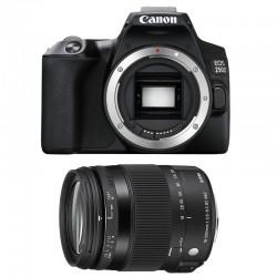CANON EOS 250D + SIGMA 18-200 Macro OS HSM Contemporary Garanti 3 ans