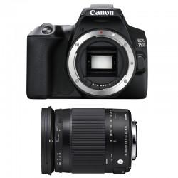 CANON EOS 250D + SIGMA 18-300 Macro OS HSM Contemporary Garanti 3 ans