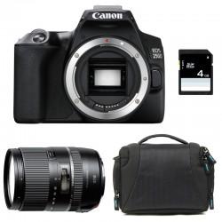 CANON EOS 250D + TAMRON 16-300 VC Garanti 3 ans + Sac + Carte SD 4Go
