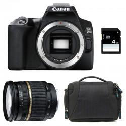 CANON EOS 250D + TAMRON 17-50 LD Garanti 3 ans + Sac + SD 4Go