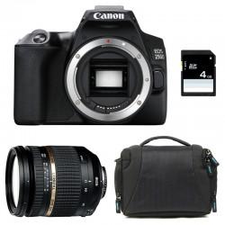 CANON EOS 250D + TAMRON 17-50 VC Garanti 3 ans + Sac + SD 4Go