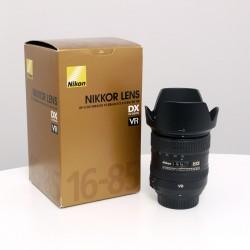 Occasion NIKON AF-S DX 16-85 mm f/3.5-5.6G ED VR