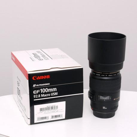 Occasion CANON Objectif EF 100 mm f/2.8 USM Macro