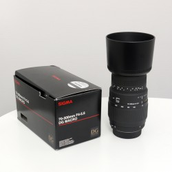 Sigma Objectif 70-300 mm F4-5,6 DG Macro NIKON
