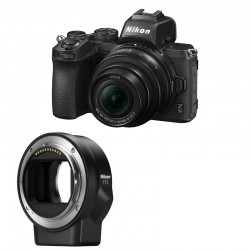NIKON Z 50 + 16-50 mm + FTZ Adaptateur