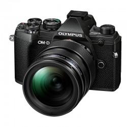 OLYMPUS OM-D E-M5 MARK III NOIR + Objectif M.ZUIKO DIGITAL ED 12-40mm 1:2.8 Noir